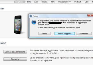iOS 5, aggiornamento iPhone - 1