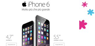 iPhone 6 Tre Italia