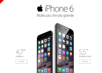 Offerta Vodafone iPhone 6 Plus