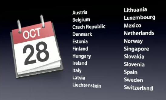 Date uscita iPhone 4S Italia, Europa e Mondo: calendario
