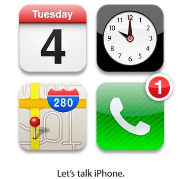 Let's talk iPhone: uscita il 4 Ottobre 2011