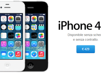 iPhone 4S prezzo 429 euro